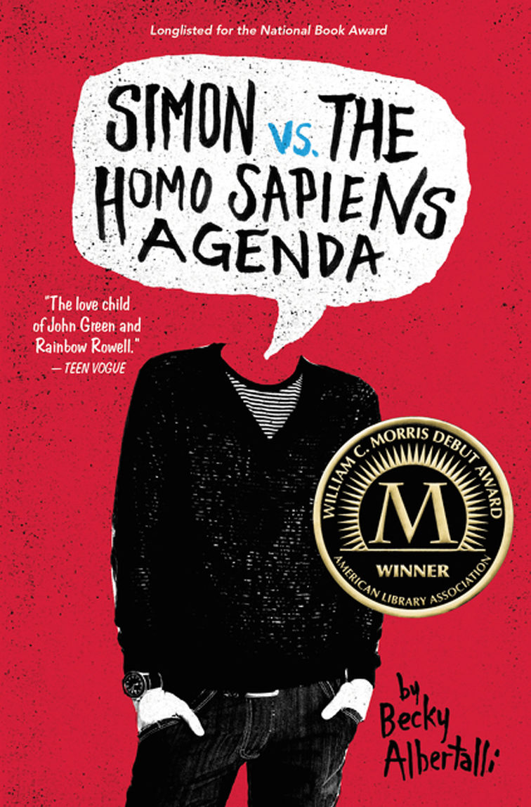 Blue from <em>Simon vs. the Homo Sapiens Agenda</em>