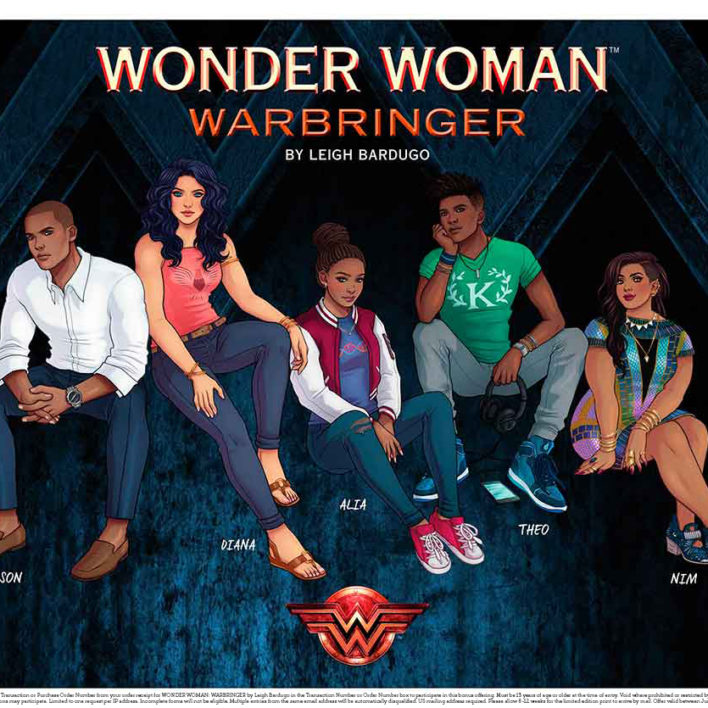 Enter the Wonder Woman: Warbringer by Leigh Bardugo Pre-Order Giveaway