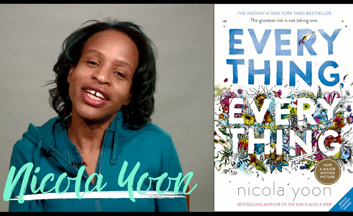 VIDEO: Nicola Yoon Tells All AboutEverything, EverythingBecoming a Movie