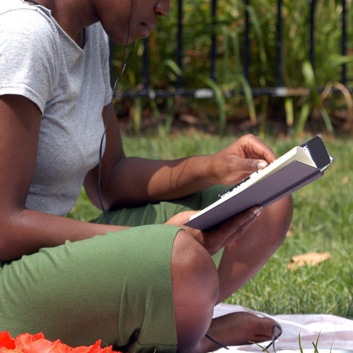 Why Reading Outside Is Honestly the Best