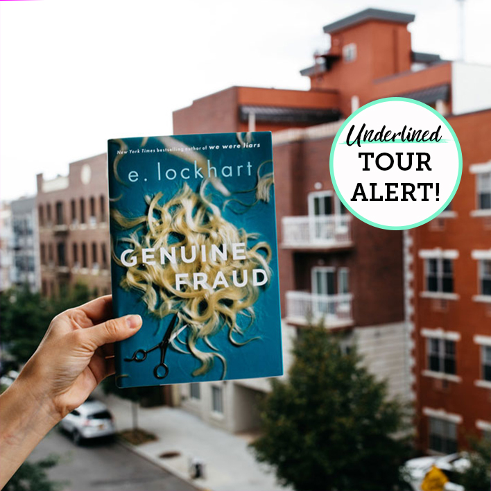 E. Lockhart is Coming to a City Near You for Her New Book Genuine Fraud!