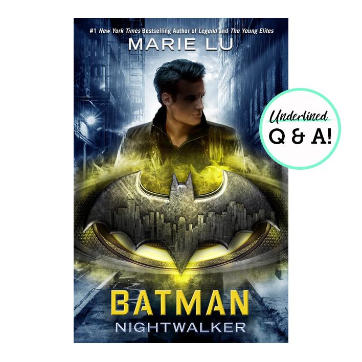 This Q&A with Marie Lu Is Bat-tastic!