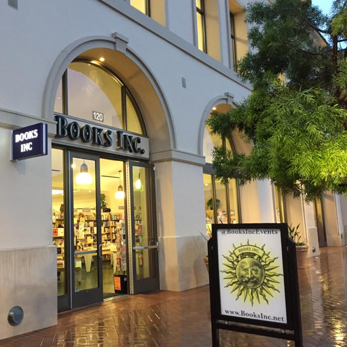Indie Love Stories: Profile on Books Inc. in San Francisco!