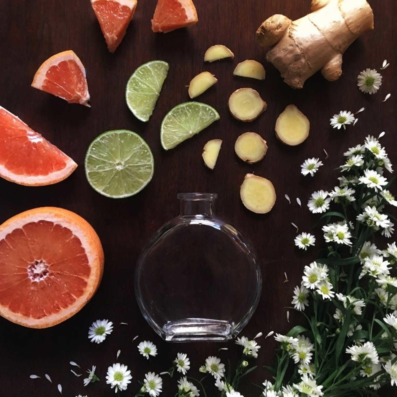 Ginger + Chamomille + Grapefruit + Lime