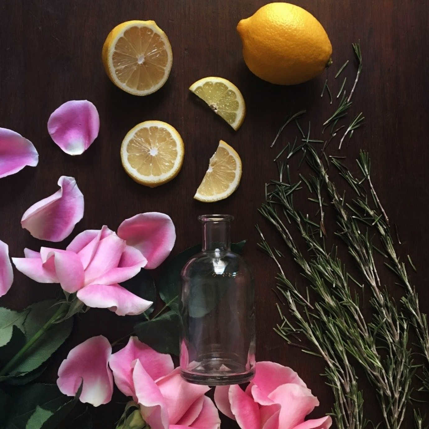 Lemon + Rosemary + Rose