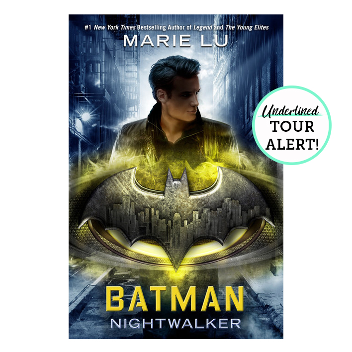 TOUR ALERT: Marie Lu is Hitting the Road for Batman: Nightwalker!