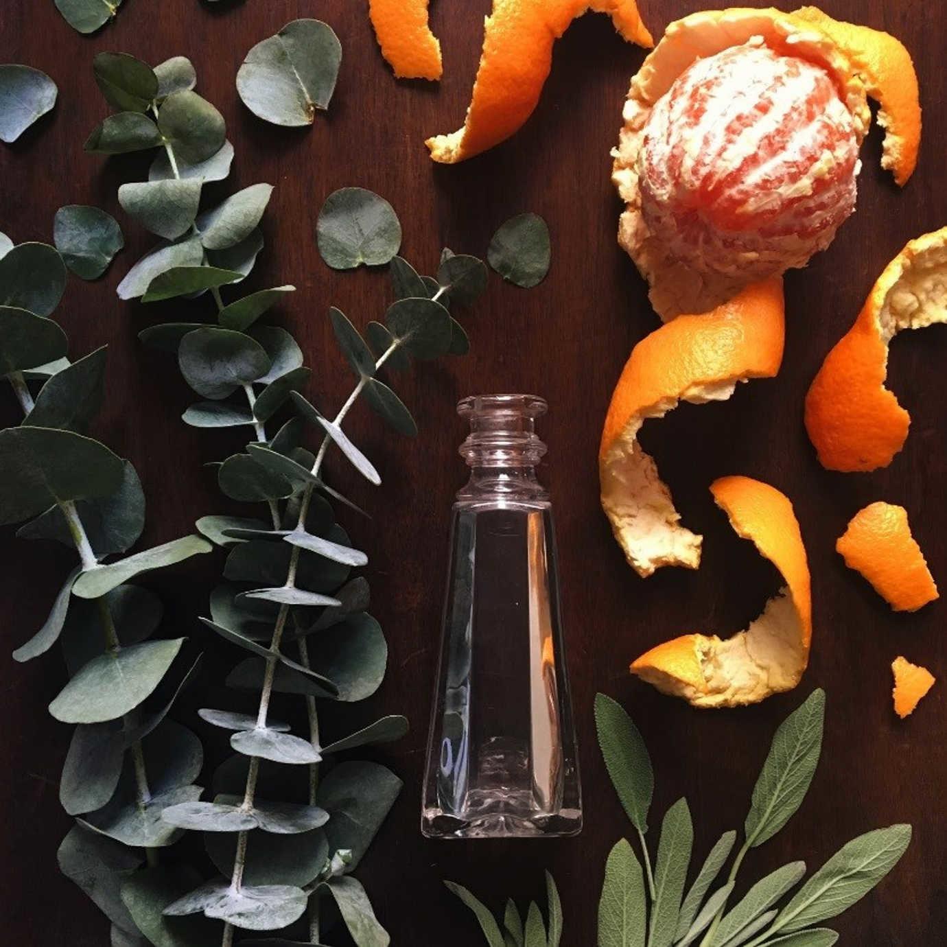 Sage + Eucalyptus + Orange