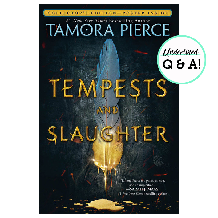 Exclusive Q&A with Legendary Fantasy Author Tamora Pierce