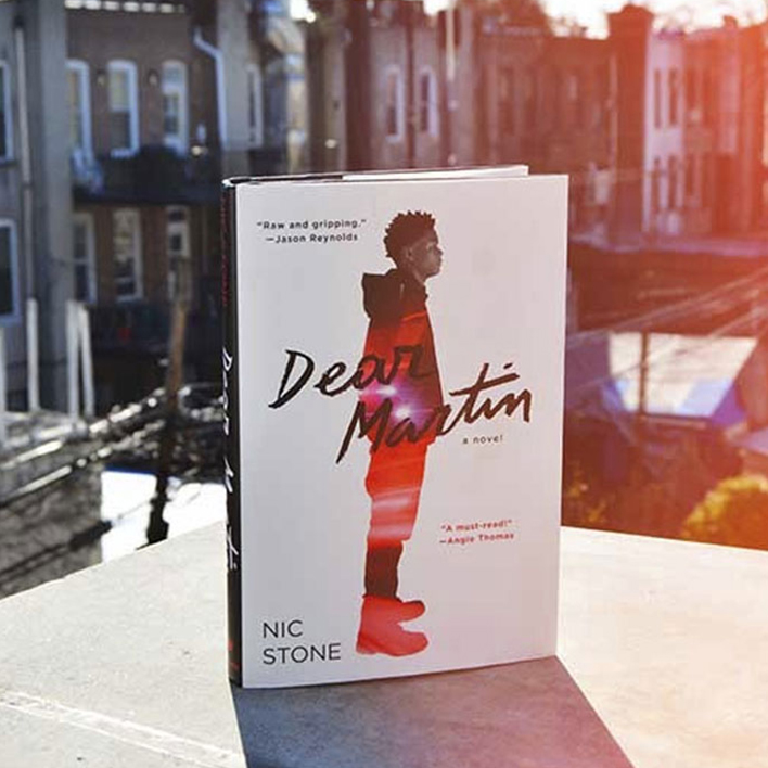 Read Dear Martin by Nic Stone this Martin Luther King Jr. Day