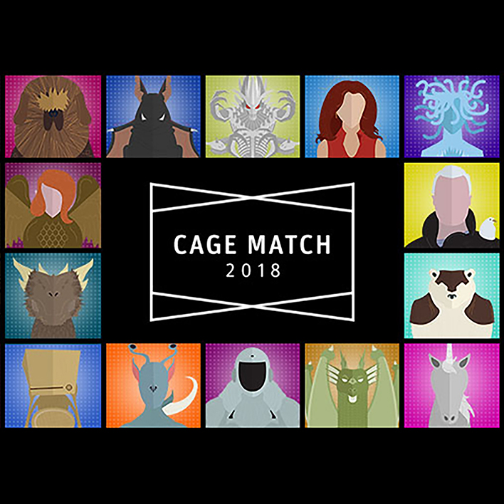Vote for Your Favorite Character in This Year's Cage Match!