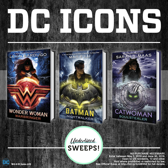 Enter the DC Icons Summer Sweepstakes!