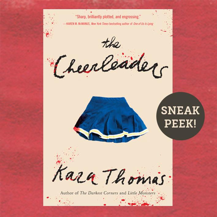 Sneak Peek! Read Chapter One of The Cheerleaders by Kara Thomas!