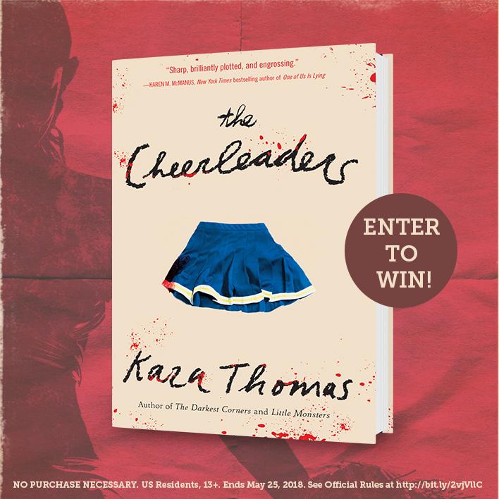 Enter the Killer Kara Thomas Sweepstakes