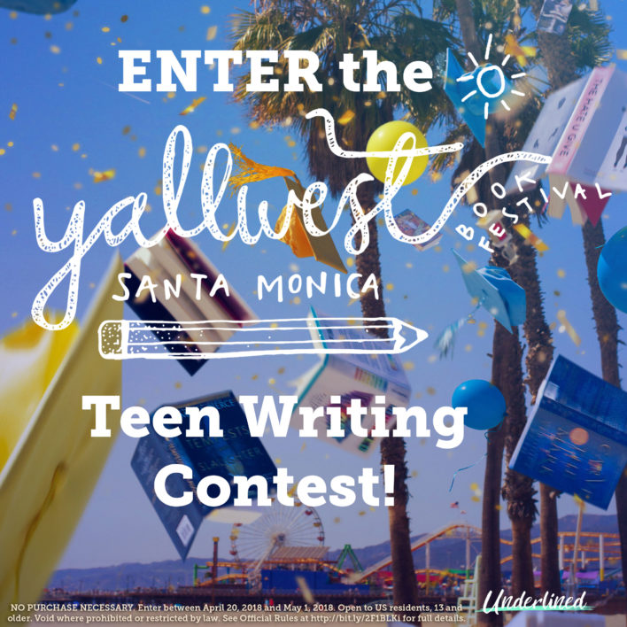 Enter the YALLWest Teen Writing Contest!