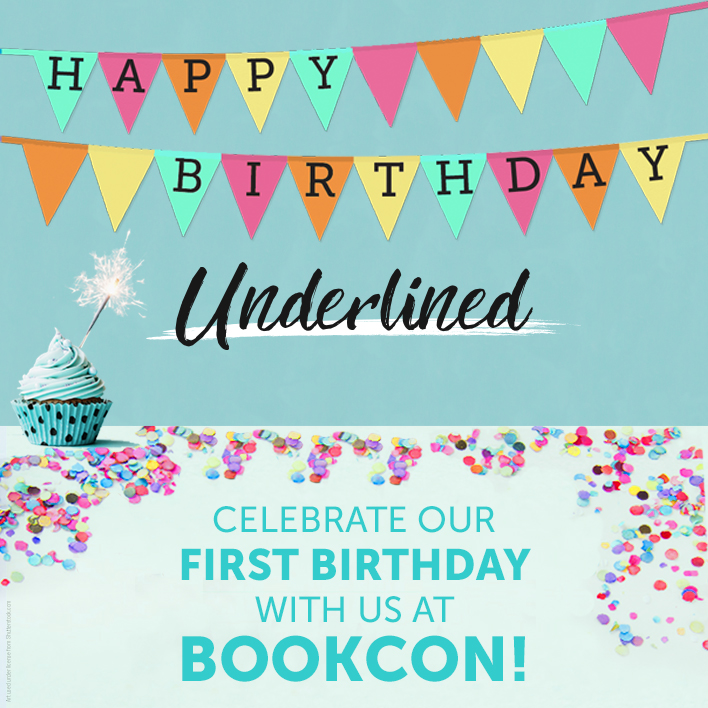 Celebrate Underlined's Birthday at These Awesome BookCon Events!