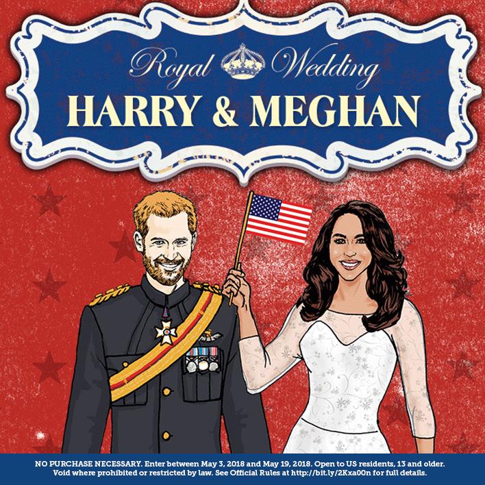 Enter The Royal Wedding Sweepstakes
