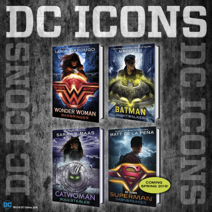 The DC Icons Series!