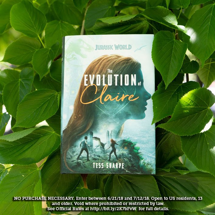 Enter The Evolution of Claire Jurassic World Sweepstakes
