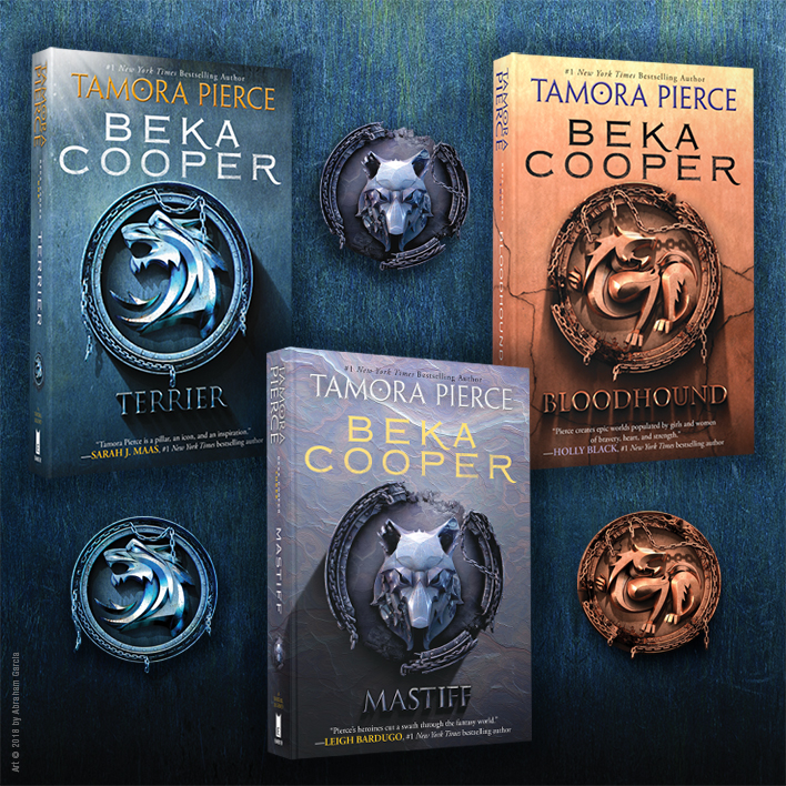 The Beka Cooper Series by Tamora Pierce!