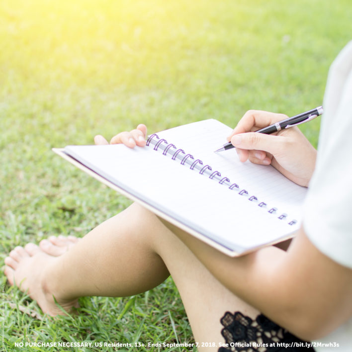 Enter the End-of-Summer Writing Contest!
