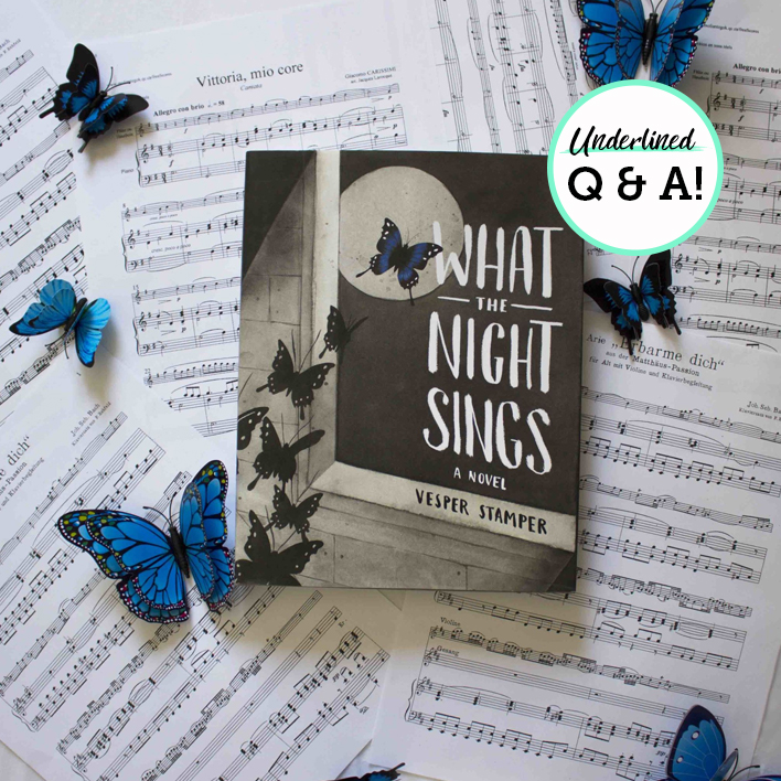 Q&A with Vesper Stamper, Author of What the Night Sings