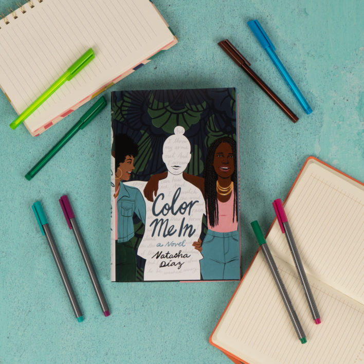 Q&A with Natasha Díaz, Author of Color Me In