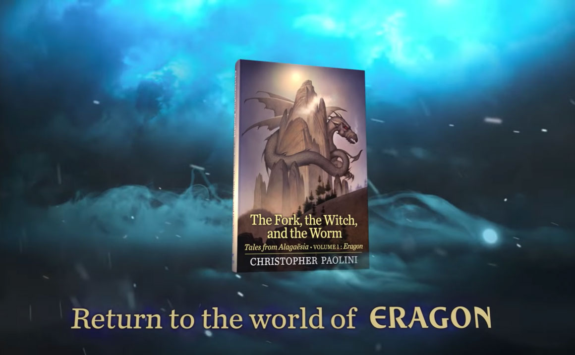 The Fork, the Witch, and the Worm by Christopher Paolini Official Book Trailer