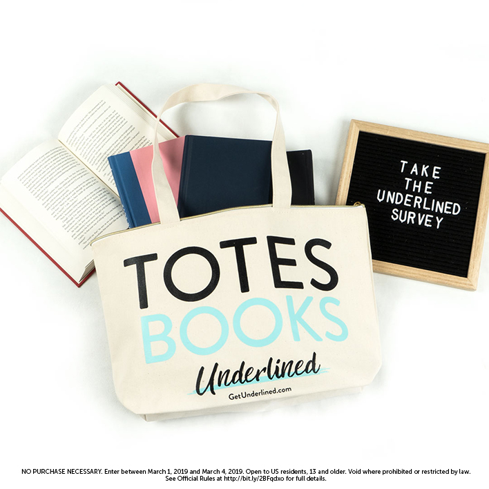 Take the Underlined Survey and Find Out How You Can Win a Tote!