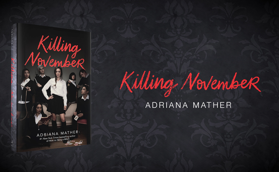 Watch the Killing November Official Book Trailer!