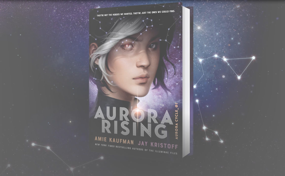 Watch the Official Aurora Rising Book Trailer