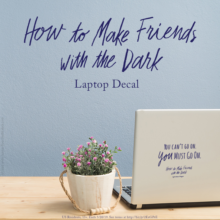 Enter the How to Make Friends with the Dark Gift with Purchase Giveaway