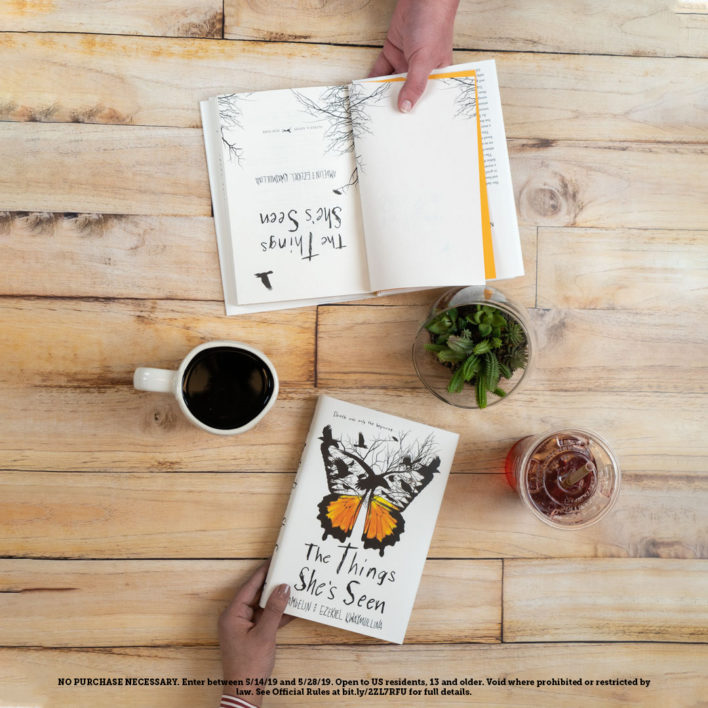 Enter The Things She's Seen Book Club Sweepstakes!