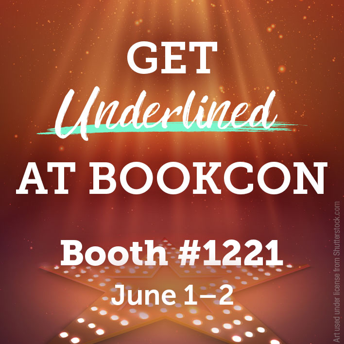 Get Underlined at BookCon 2019 & Check Out Our BOOK NERD Pride Line!