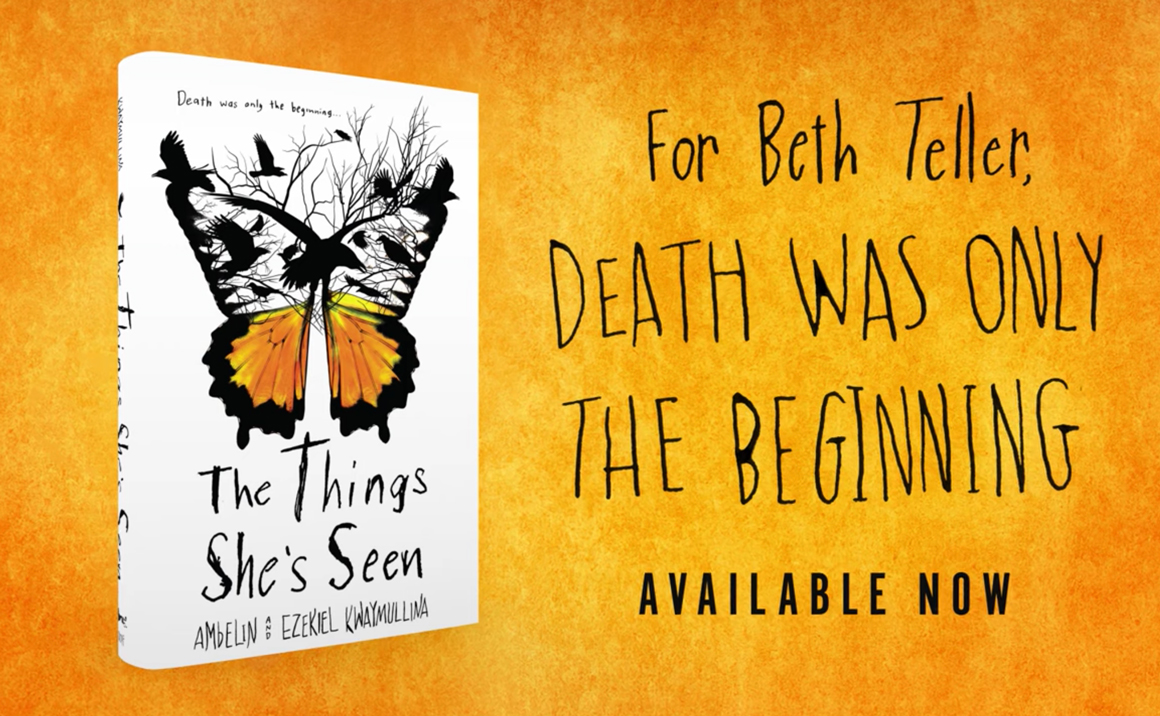 Watch the Official The Things She's Seen Book Trailer!