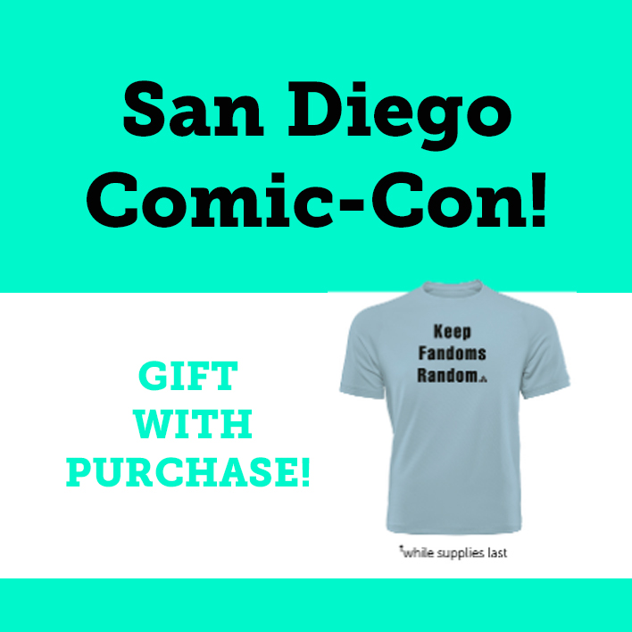 Don't Miss Our San Diego Comic-Con 2019 Giveaways and Events!