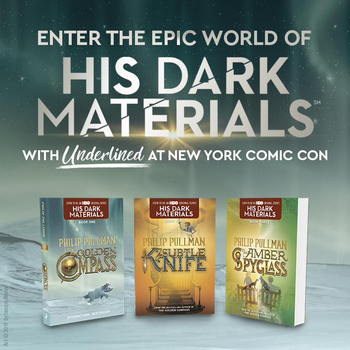 Enter the World of His Dark Materials With Us at New York Comic Con 2019