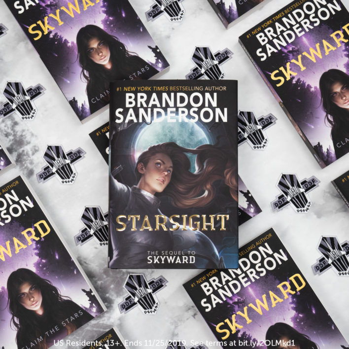 Enter the Starsight by Brandon Sanderson Pre-Order Giveaway