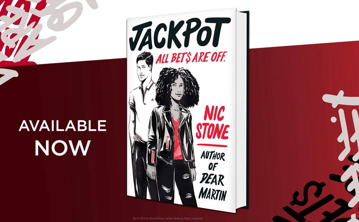 Watch the Official Jackpot Book Trailer