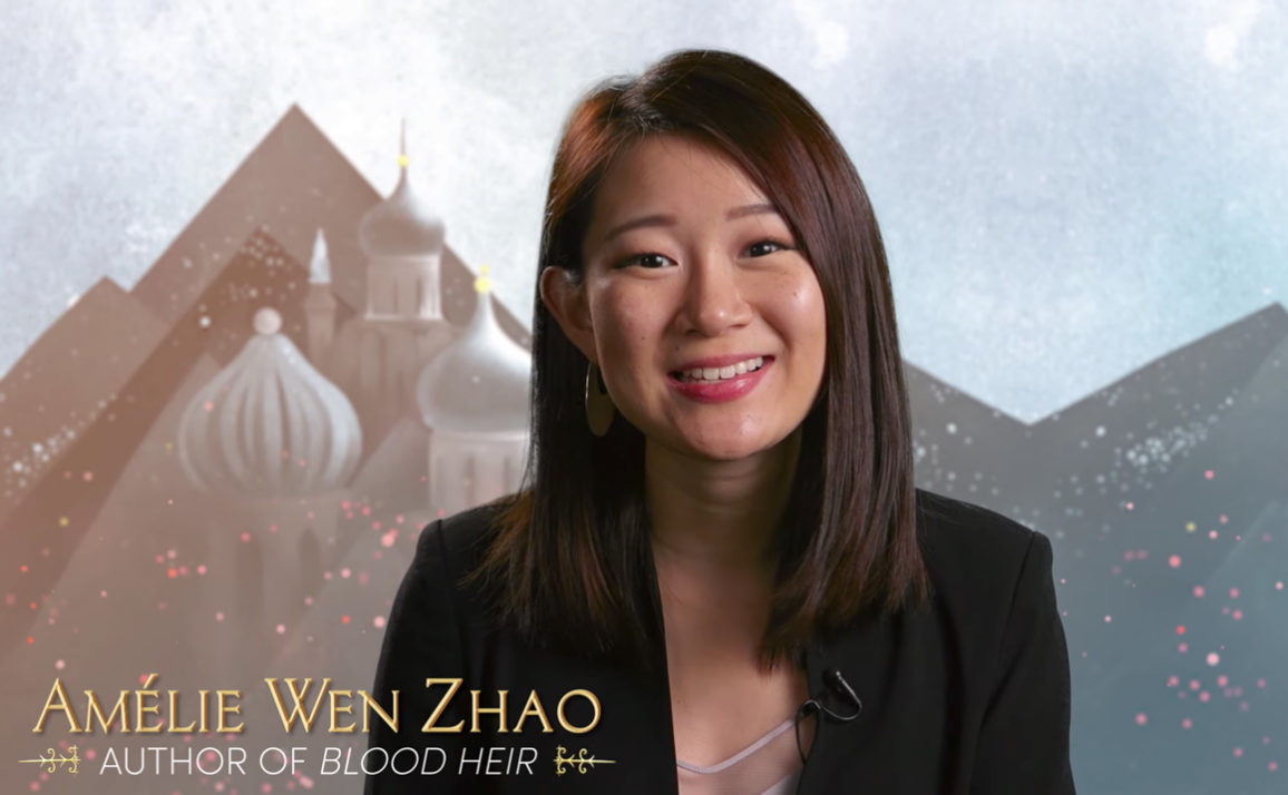 Meet Debut Author of Blood Heir Amélie Wen Zhao in This Video!