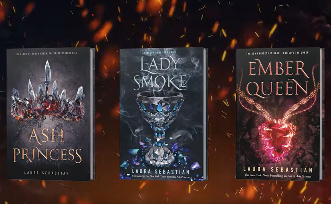 Watch the Trailer for Ember Queen by Laura Sebastian
