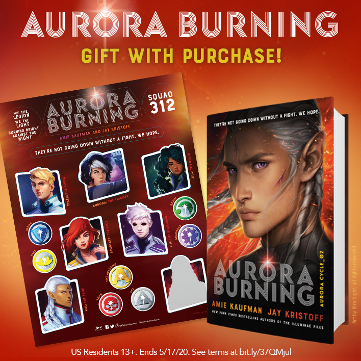 Enter the Aurora Burning Gift with Purchase Giveaway!