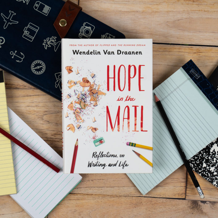 Finding Your Writer's Gold: Writing Advice from Wendelin Van Draanen