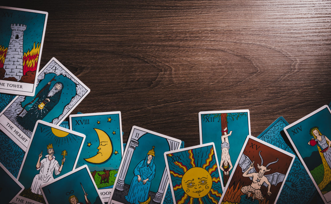 Which Tarot Card You Get Tells Us Which Book You Should Read Next