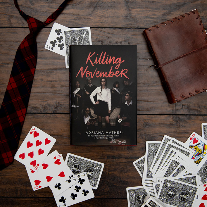 Read a Free Excerpt from Killing November by Adriana Mather