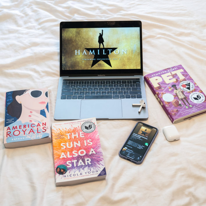 Pick a Hamilton Song and Get a YA Book Rec!