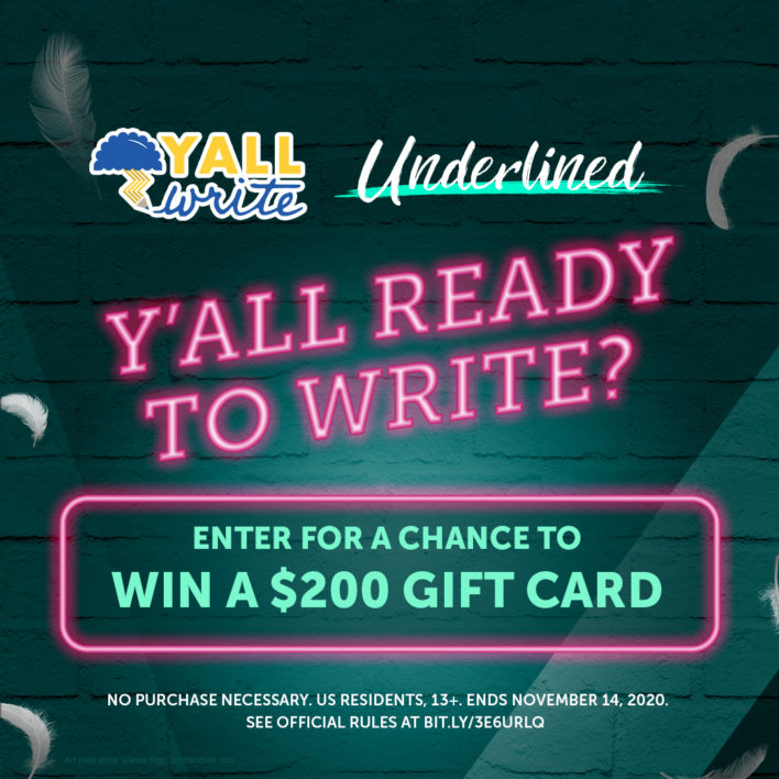 Enter the Underlined YALLWrite Writing Contest!