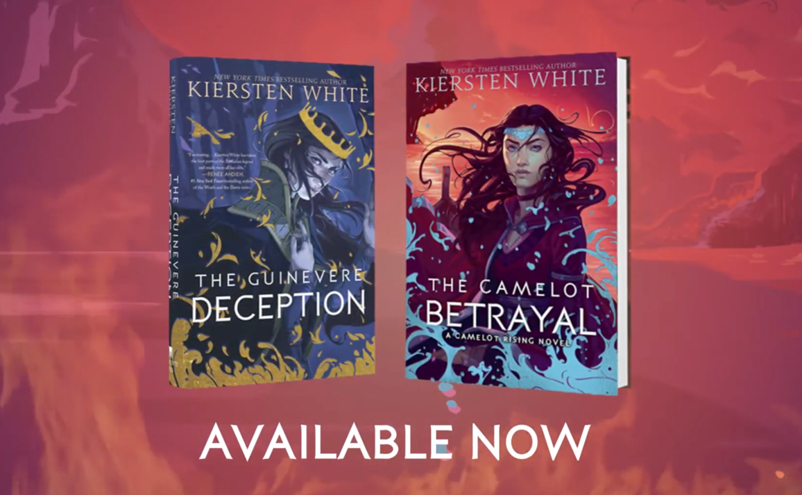 Watch the Trailer for The Camelot Betrayal by Kiersten White