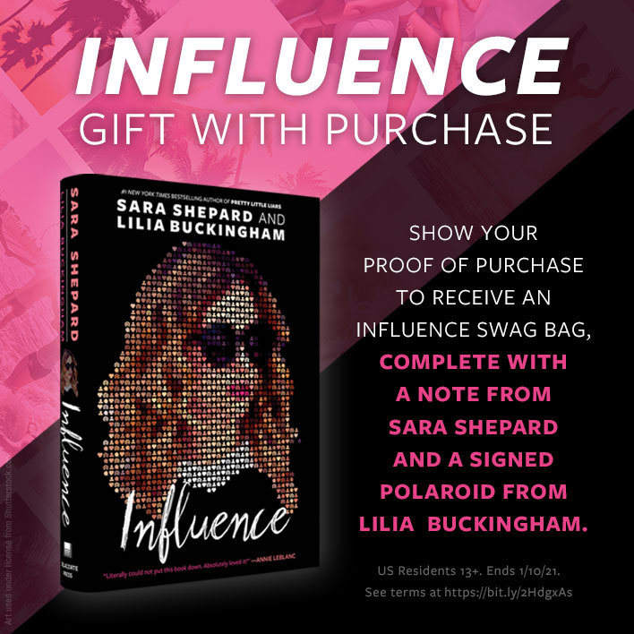 Enter the Influence Gift with Purchase Giveaway
