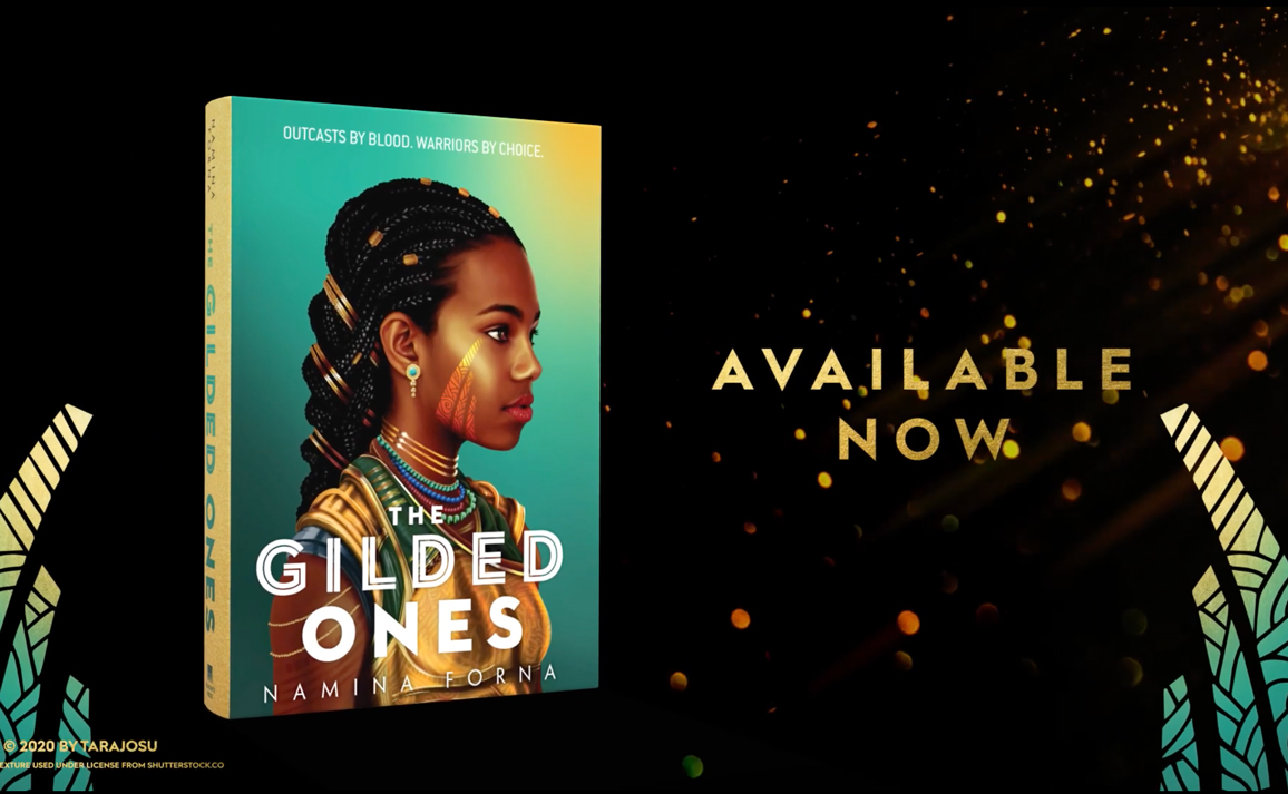 Watch the Official Book Trailer for The Gilded Ones by Namina Forna
