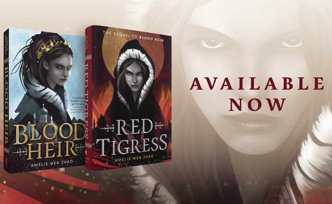Watch the Book Trailer for Red Tigress by Amélie Wen Zhao